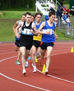 A junior league match at Harrow AC